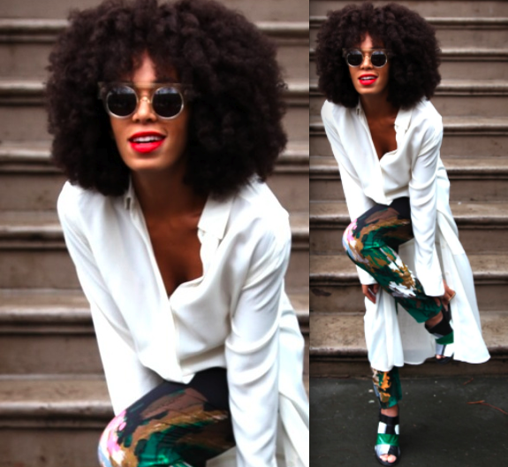 Celebrity Style Solange Knowles