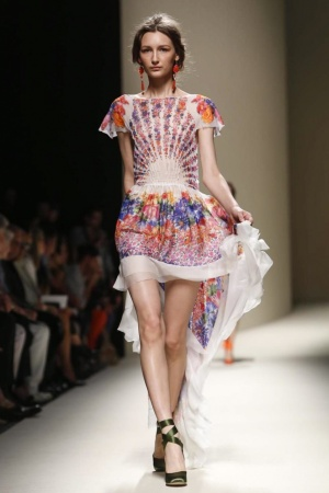 Alberta Ferretti , Ready to Wear, Spring Summer 2014, Milan