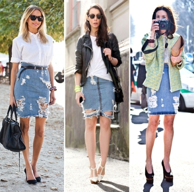 get+the+look+ripped+denim+jean+skirt+street+style