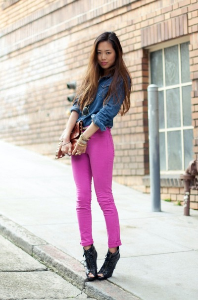 street-style-denim-on-hot-pink-denim-a