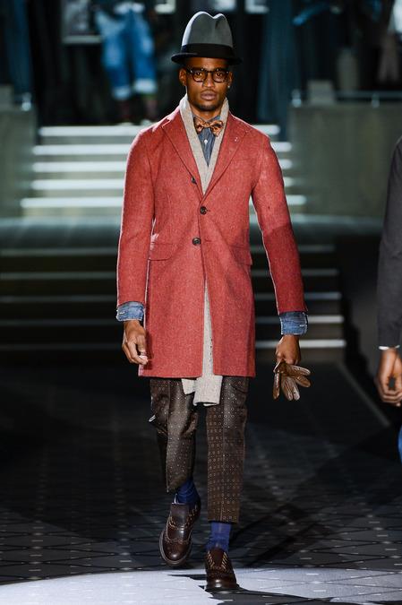 Dsquared Milan fashion show