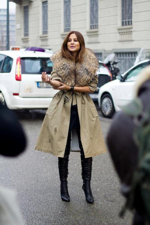 fur coats |