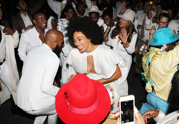 the fashionable wedding of solange furguson formally