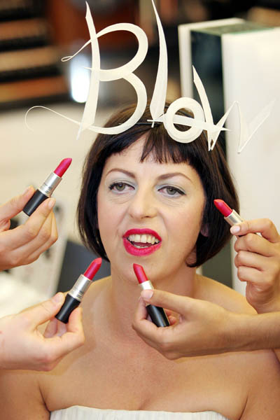 Isabella Blow launches her new lipstick range, London