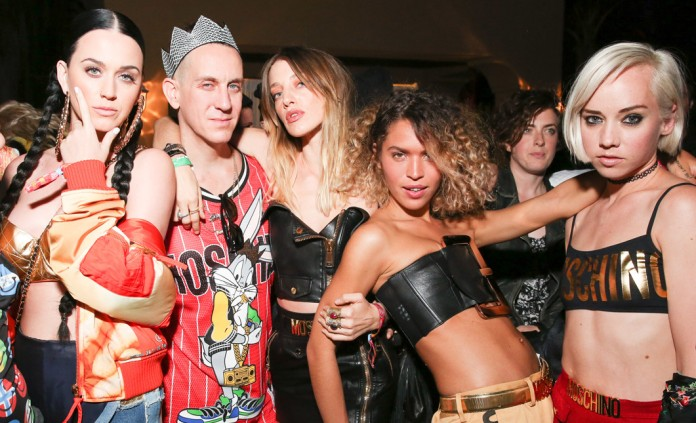 Jeremy Scott and crew