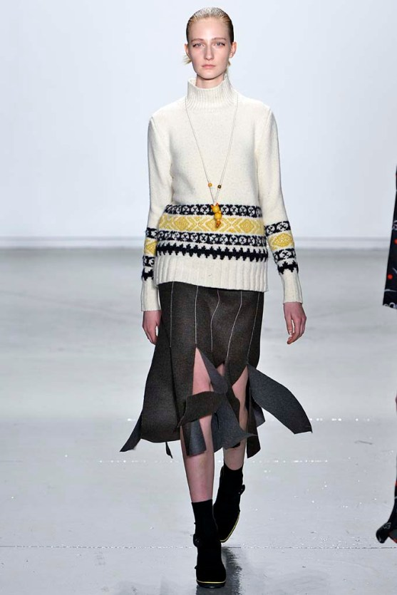 Suno New York RTW Fall Winter 2015 February 2015