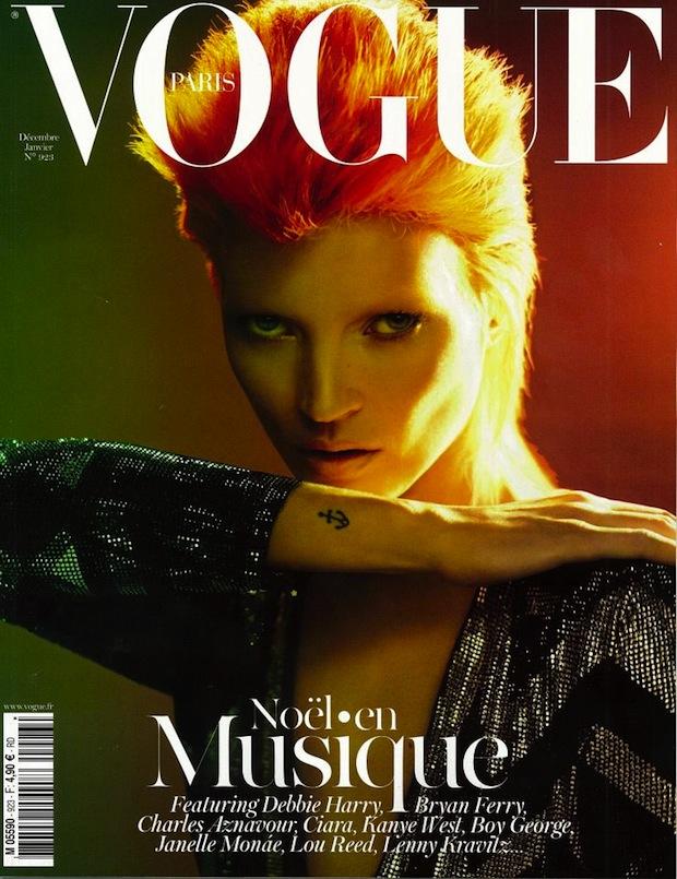 Kate Moss for Vogue Magazine Paris
